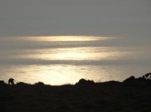 Sunset on the Irish Sea