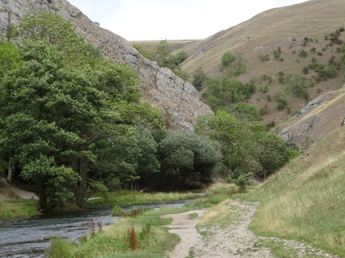 Approaching Dovedale