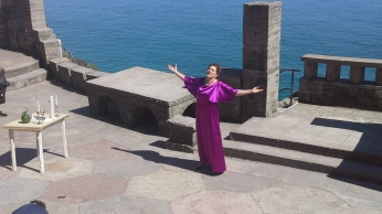 Opera at the Minack Theatre in Cornwall, 2014
